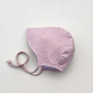 pink Baby bonnet