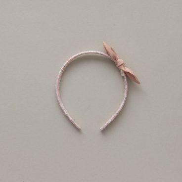 blush pink alice band